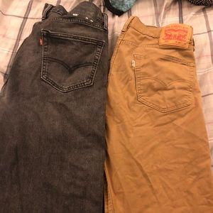 Men Levi's jeans